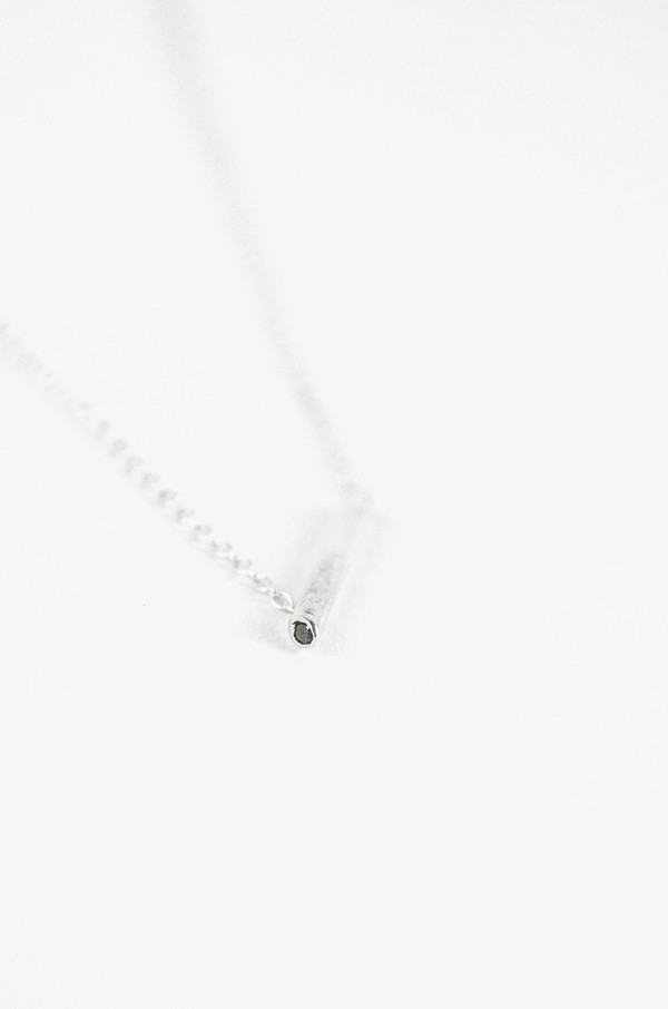 Still House Black Diamond Silver Essa Necklace