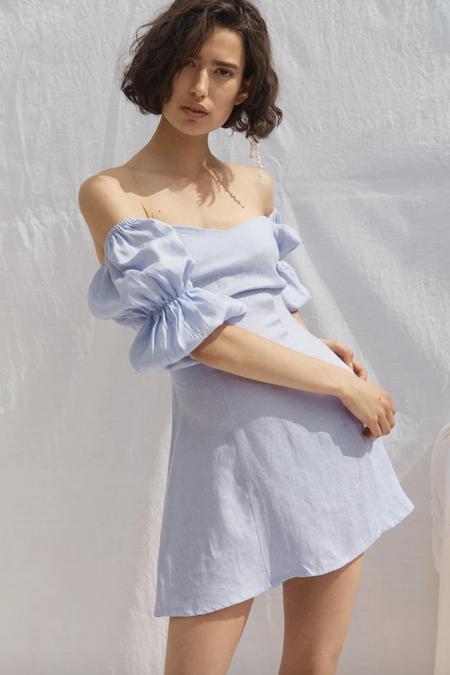 All That Remains Ellye Linen Dress - Lavender