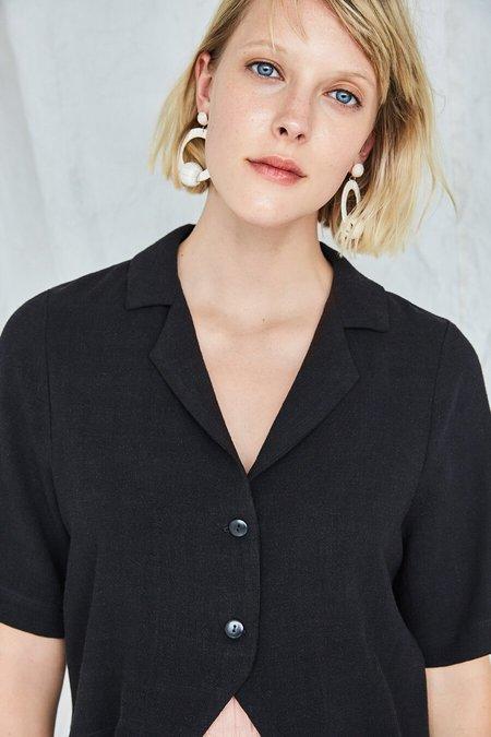Eve Gravel Gabrielle Shirt - Noir