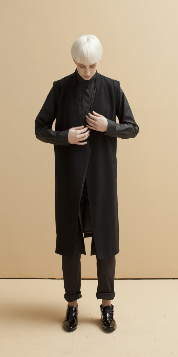 SCHAI Duplex Sleeveless Jacket