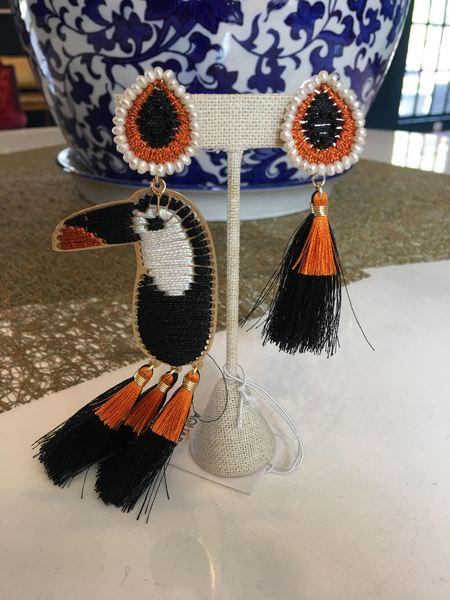 Mercedes Salazar Tucan Earrings