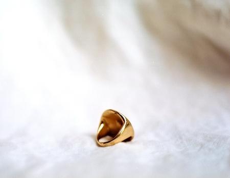 Kelci Potter Compass Ring - 14K Gold