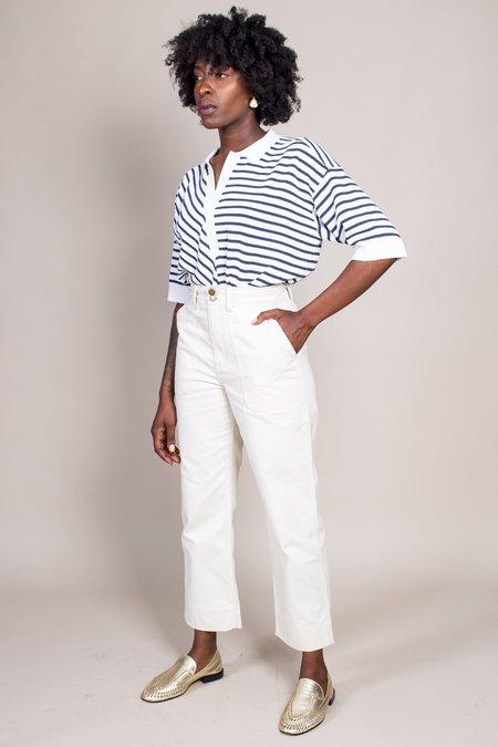 Apiece Apart Victoire Painters Pant - Cream