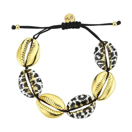 Maisonirem Oceana Bracelet - Gold/Leopard
