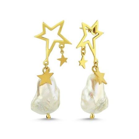 Maisonirem Pearl Dream Earrings - Gold