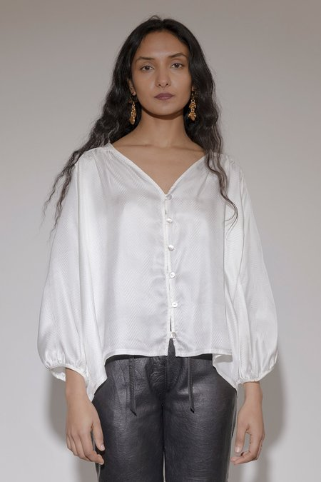 BEFORE MARCH Smock Top
