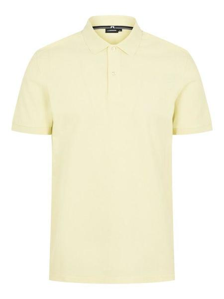 J Lindeberg Troy Clean Pique Polo - Yellow