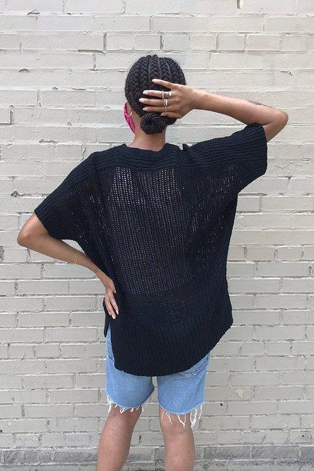 M.Patmos Ellis Boucle Pullover - Black