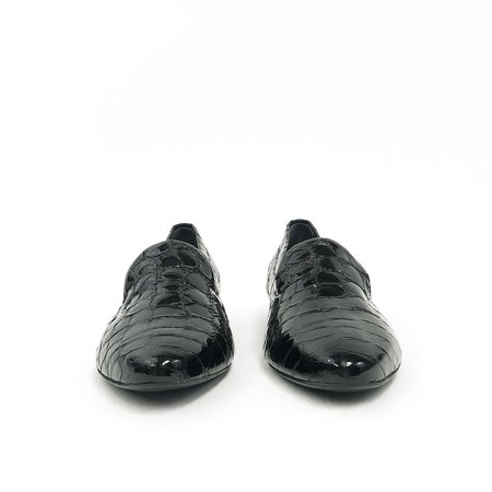 AGL Patent Loafers - Black