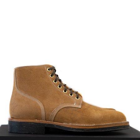 Viberg Boondocker Seven Eyelets Boot - Wheat Roughout
