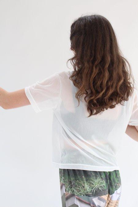 Beklina T-Shirt Mesh - White