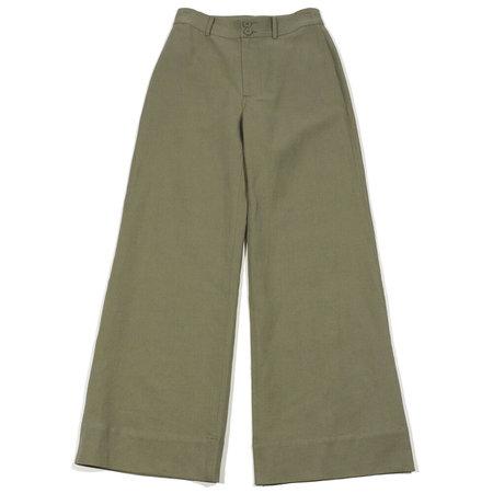 Apiece Apart Long Merida Pant - Pistachio