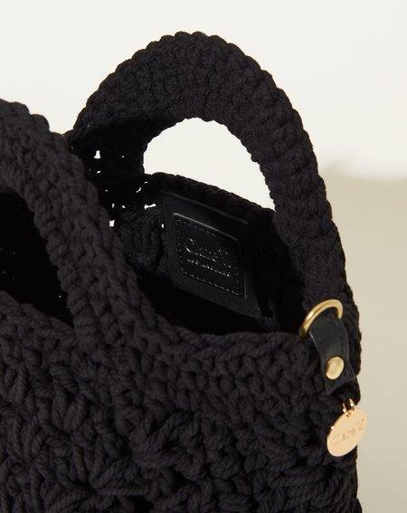 Clare V. Coco Top Handle - Black