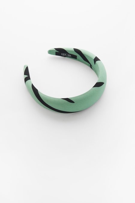Valet Studio Annalise Headband - Green