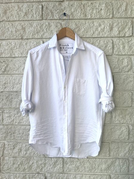 Frank & Eileen LONG SLEEVE BUTTON DOWN - WHITE