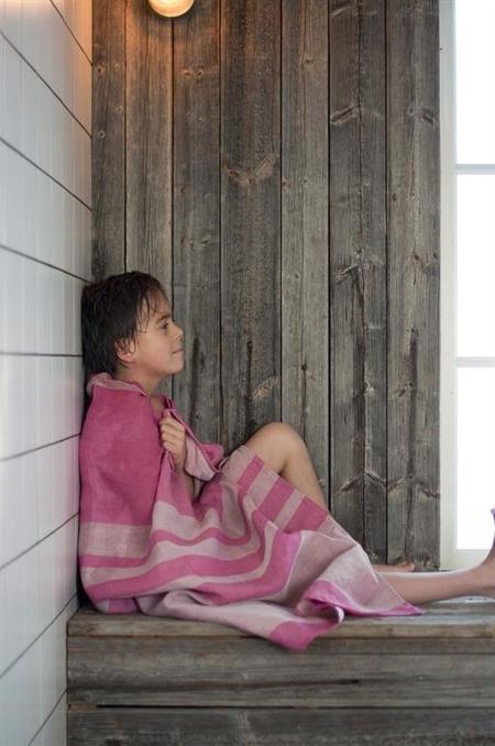 Vaxbo Lin Alfons Bath Towel - Black