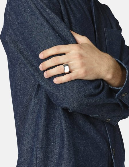 A.P.C. Nolan Ring - Silver
