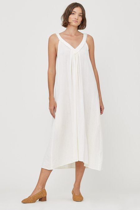 Lacausa Luna Dress - Oatmilk