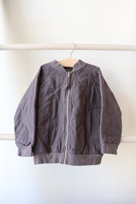 Kids Nico Nico Lhasa Quilted Bomber - Gravel