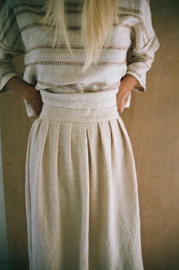 Han Starnes Pleated Skirt