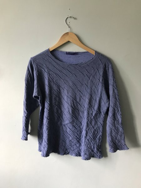 cut-loose 3/4-Sleeve Top - French Lavender