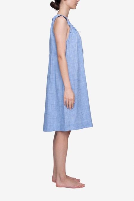 The Sleep Shirt Nightie - Blue Dobby