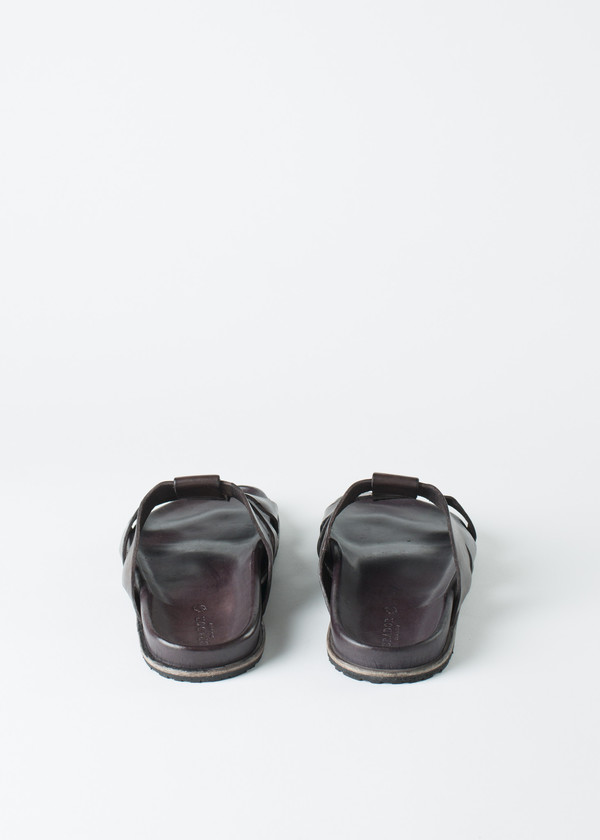 Brador Three Strap Sandal