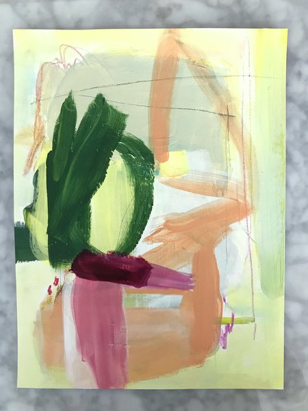 Genevieve Allen ALFRESCO Painting