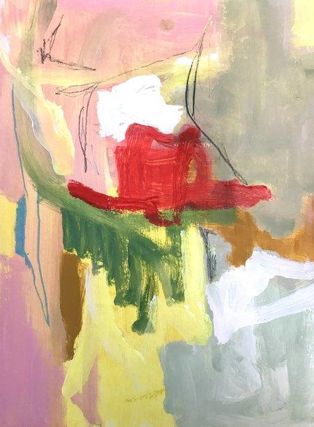Genevieve Allen DOG DAYS Painting