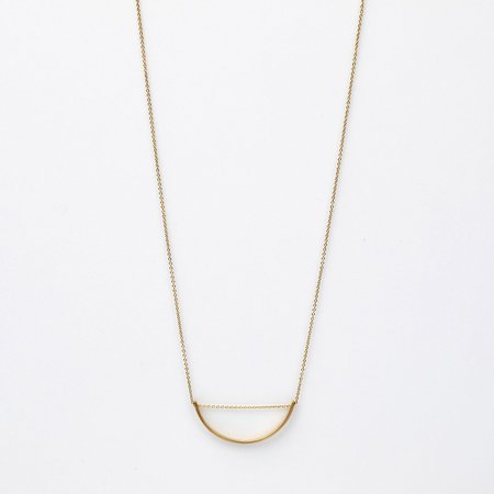 Hirotaka Adjustable Bow Necklace - 10k Gold