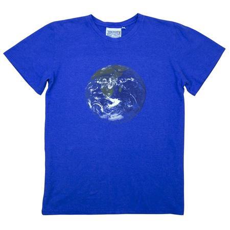 Unisex Jungmaven Earth Flag Tee - Blue
