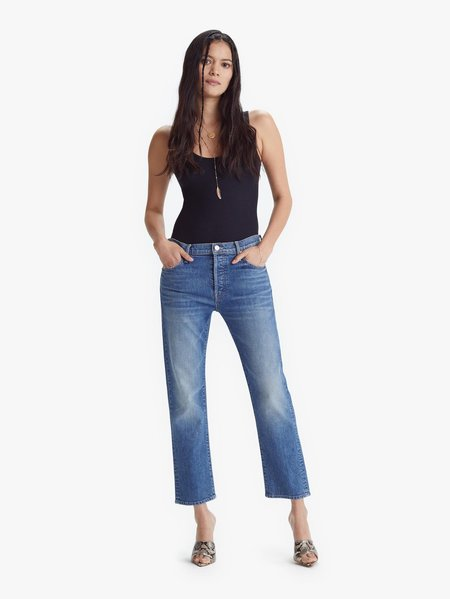 Mother Denim The Scrapper Ankle Jeans