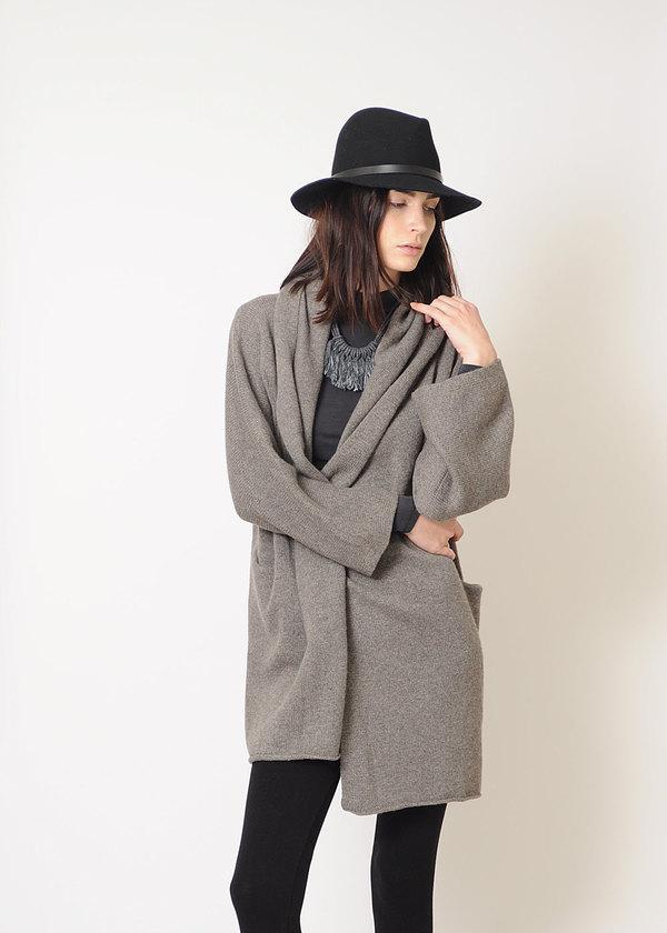 Lauren Manoogian Cashmere Capote Coat