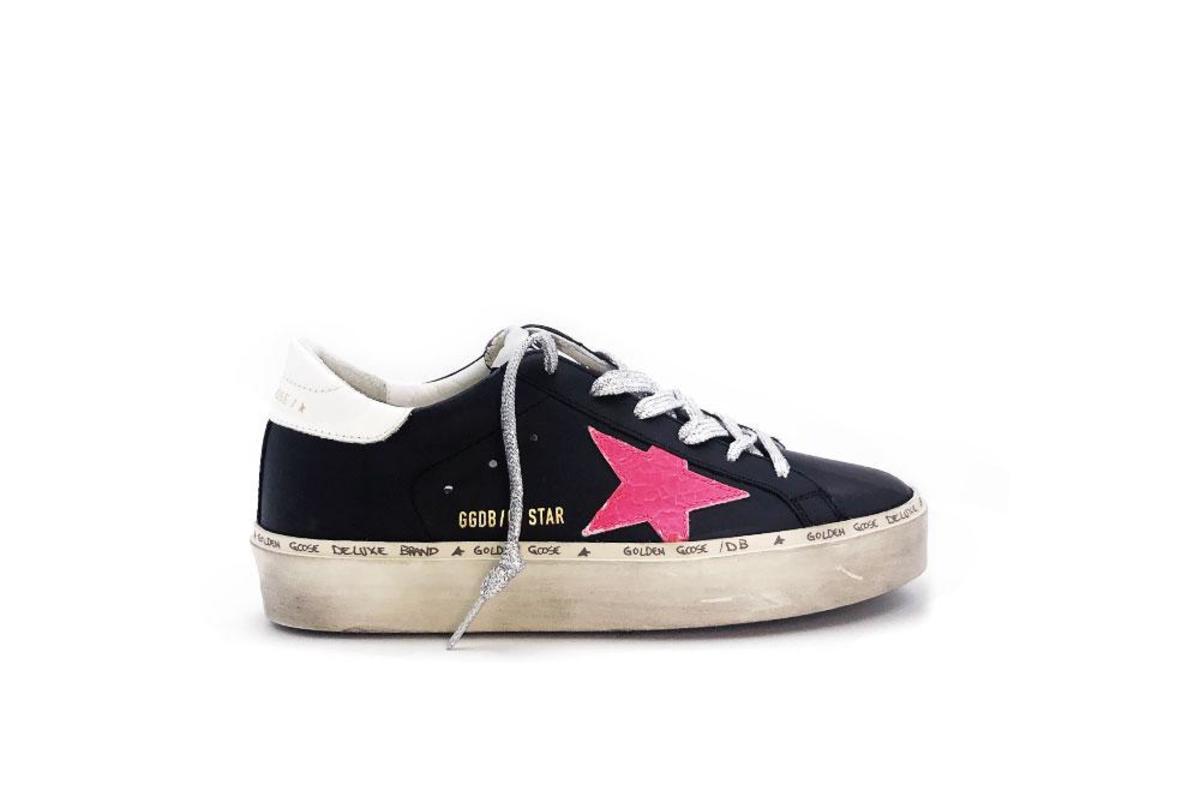 golden goose pink hi star