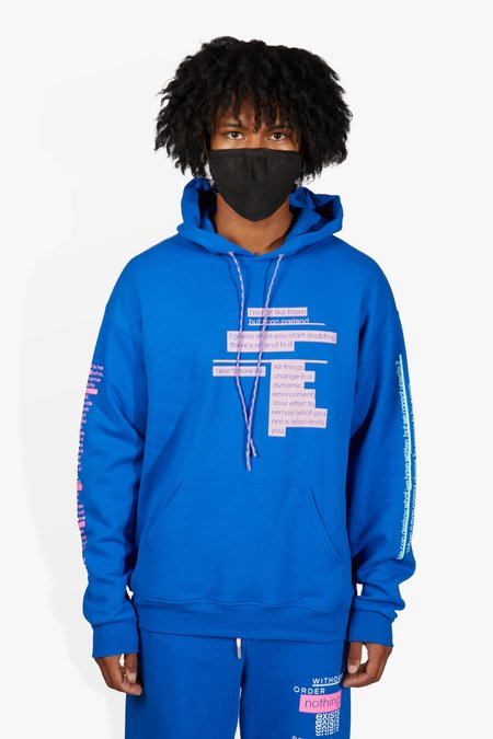 The Celect Sayings Hoodie - Blue
