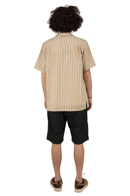 Madson MC FANTASIA SHORT SLEEVE SHIRT - BEIGE