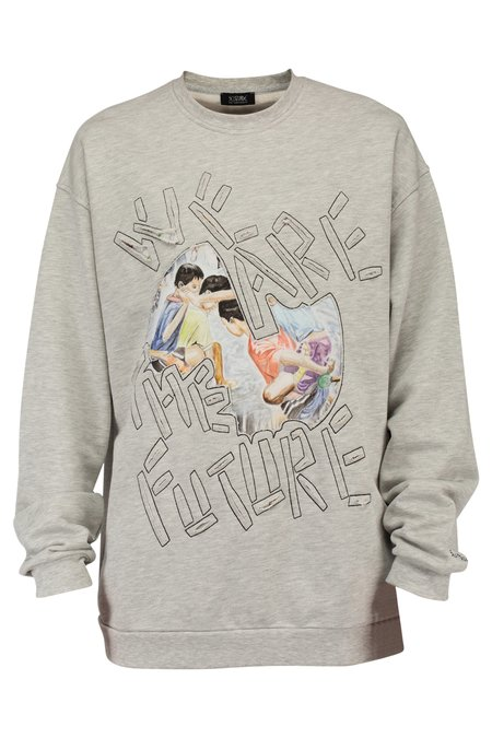 Self Made By Gianfranco Villegas We Are The Future Crewneck