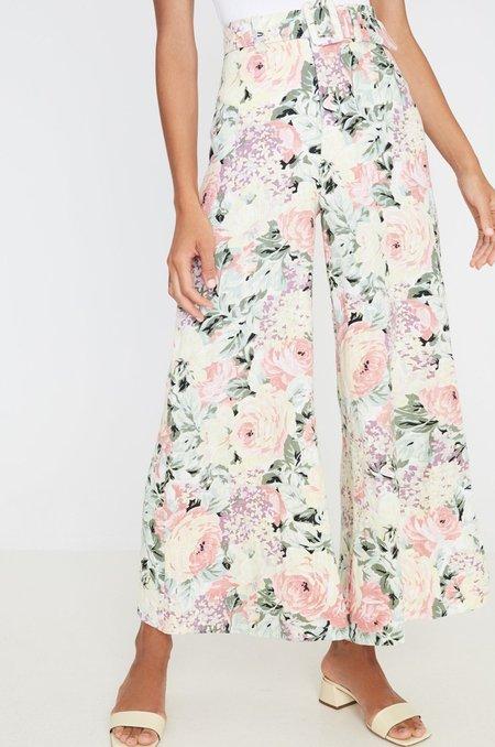 Faithfull The Brand Rose Wide Leg Pants - Venissa Floral