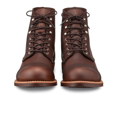 Red Wing Shoes Iron Ranger Boots  - Amber