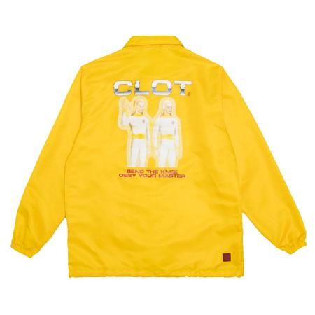 Clot Obey Your Master Coach Jacket - yellow
