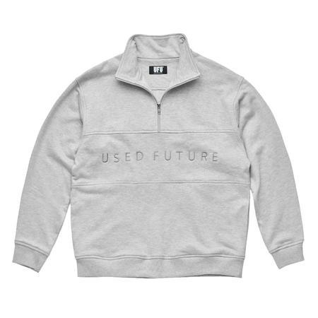 Used Future Quarter Zip Up sweater - Grey