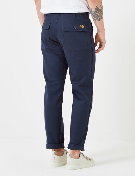 Stan Ray 4 Pocket Fatigue Pant with Loose Taper - Navy Twill