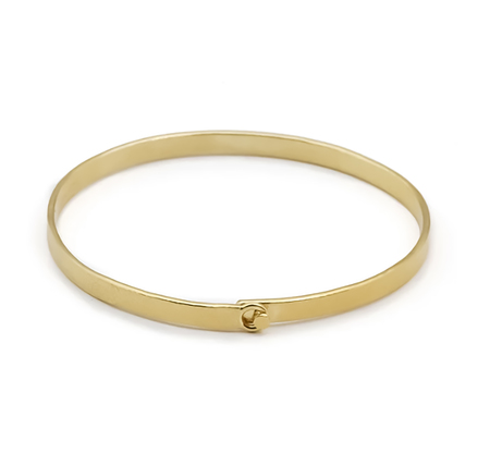 Wouters & Hendrix Hammered Clasp Bracelet - Gold