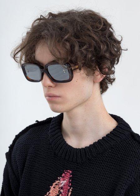 Doublet Square Flame Sunglasses - Multicolor