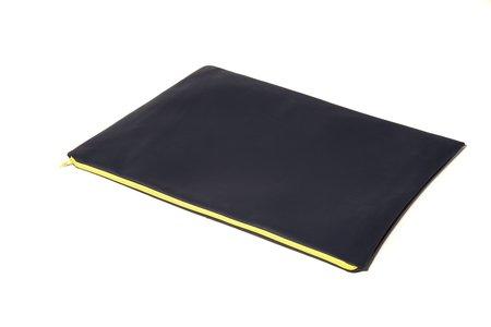 Fashion Rising Collection Vegan Leather/Hand-Batik Large Carry All - Deep Navy/Green Ralph Print
