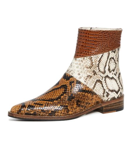 Freda Salvador Jean Tri Color Boot