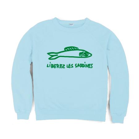 Clare V. Liberez Les Sardines Sweatshirt