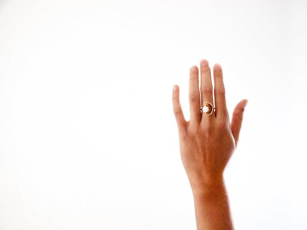 Laurel Hill Jewelry Io Ring // Moonstone