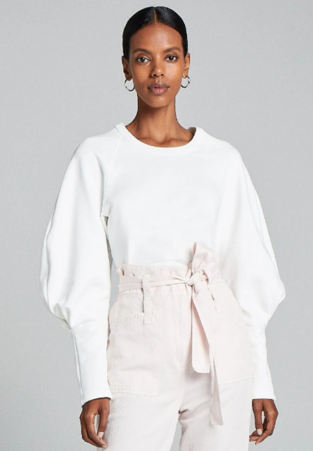 A.L.C. Ashton Sweatshirt - White