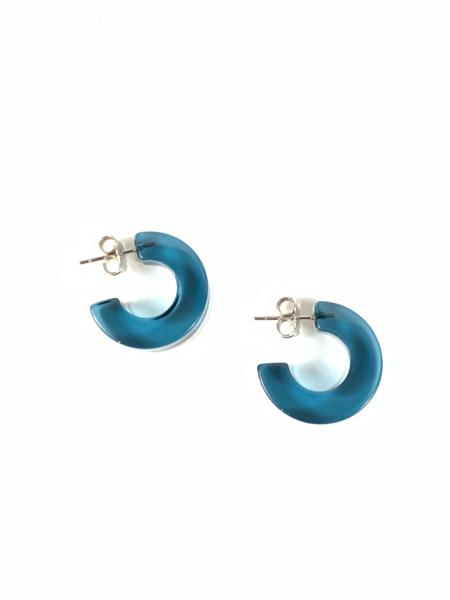 Rachel Comey Cuba Earring - Clear Blue
